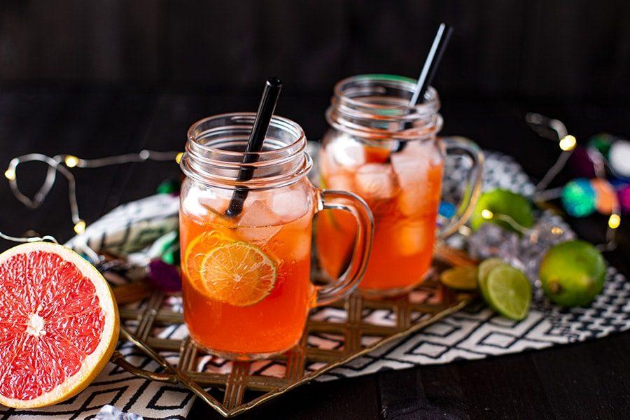 Grapefruit Tequila Aperol Cocktail