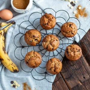 Schoko Bananen Muffins Rezept