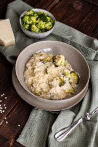 Käse Risotto mit Gemüse - Vegetarisch
