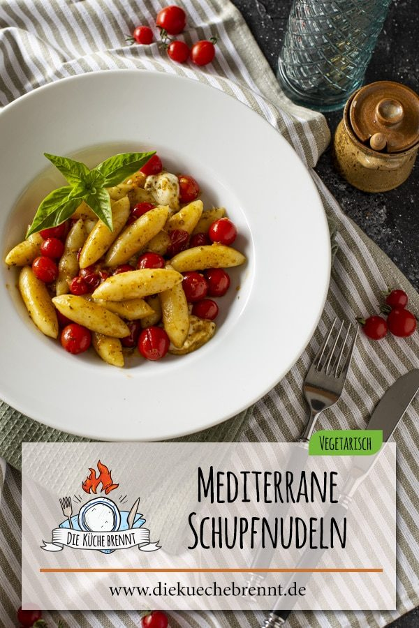 Mediterranes Schupfnudel Rezept - Schnell & Einfach