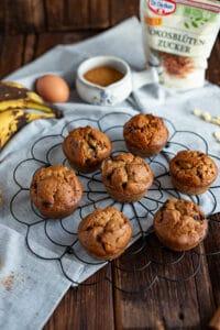 Muffins Rezept mit Kokosblütenzucker