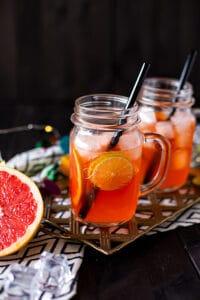 Sommercocktail mit Grapefruit