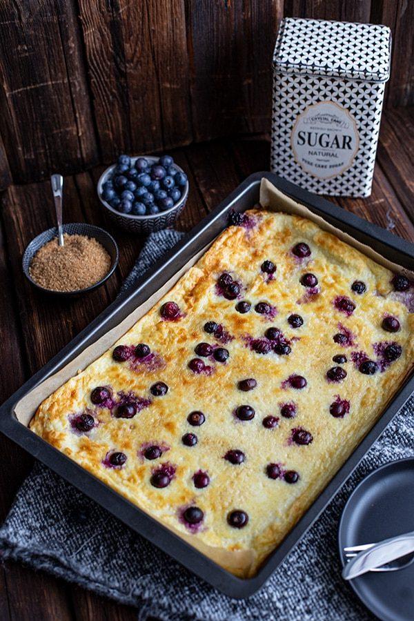 Ofen Pfannkuchen Rezept süß