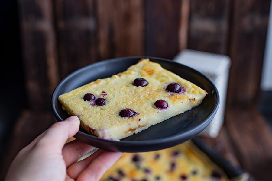 Süßspeise Pfannkuchen Backofen