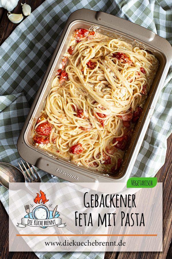 Baked Feta Pasta Rezept