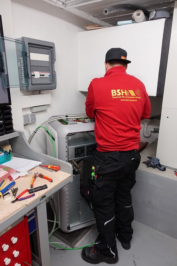 BSH Photovoltaik Senec Speicher