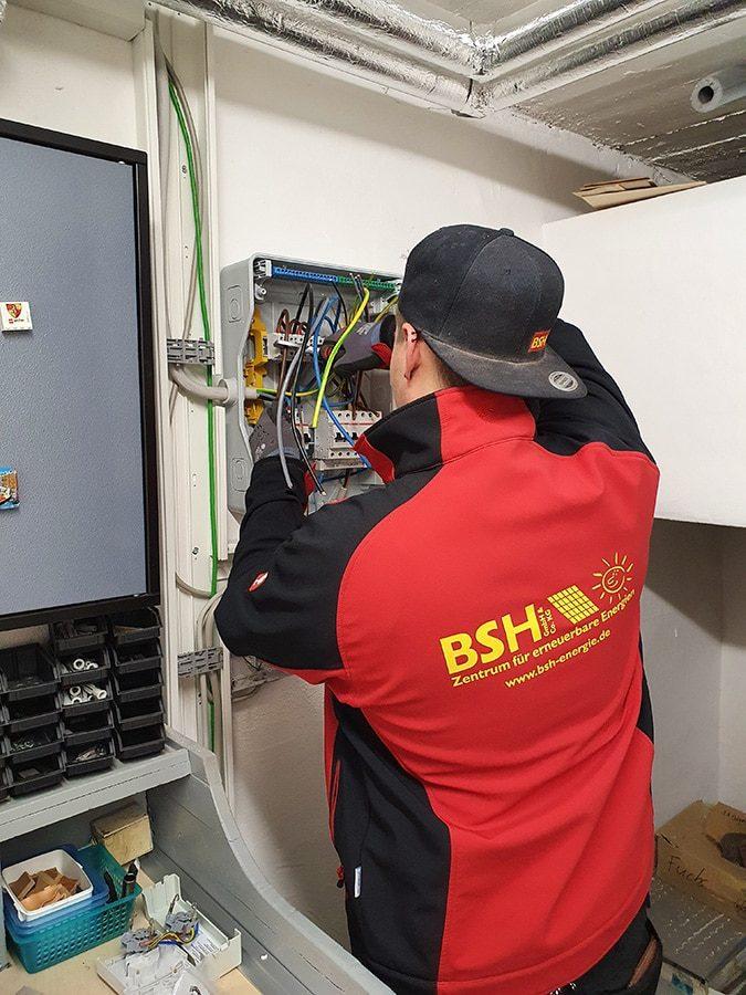 Elektriktermin PV Anlage BSH