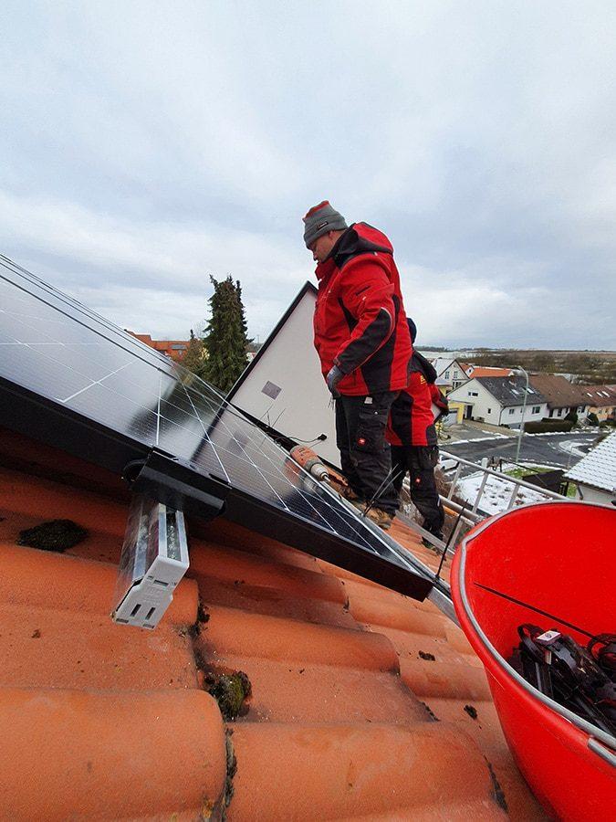 Photovoltaik Anlage Hausdach BSH Erfahrungen