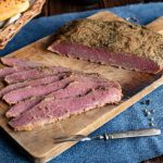 Selbstgemachtes Pastrami