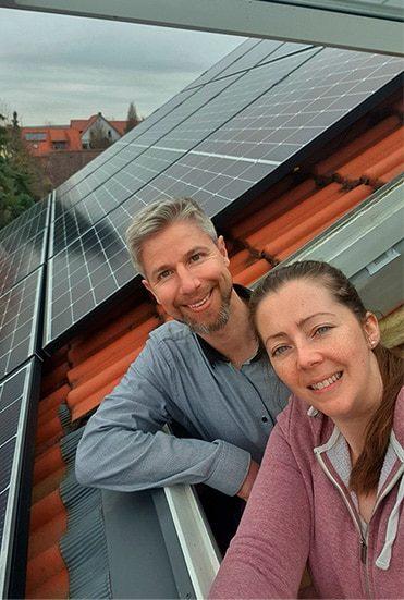 Wir haben jetzt Photovoltaik