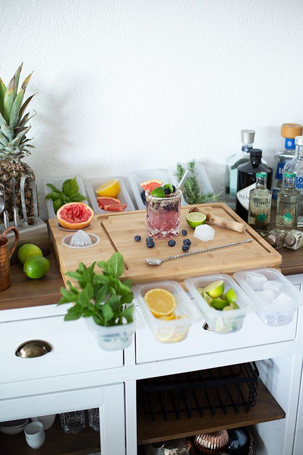 Cocktailbar für Zuhause