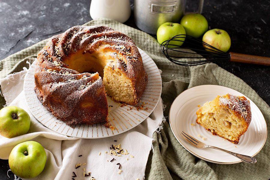Schnelles Kuchenrezept mit Apfel
