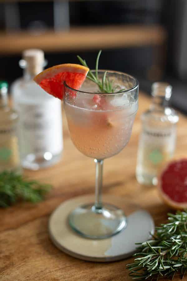 Gin mit Grapefruit